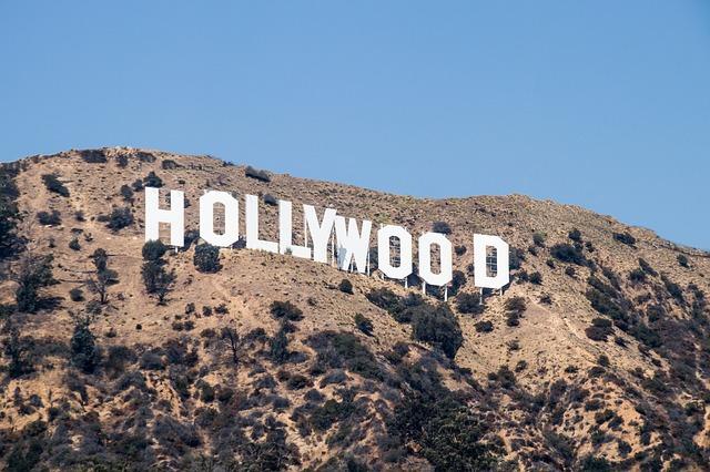 Hollywoodský nápis