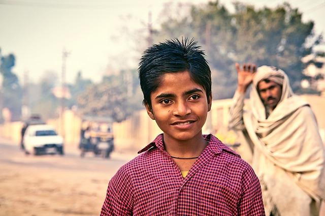 indický kluk