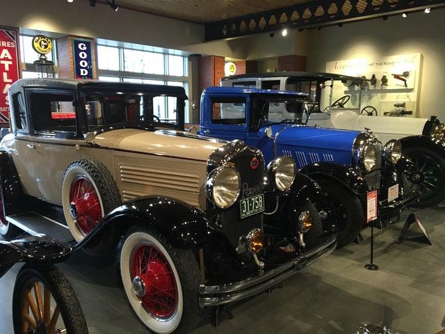 výstava starých aut