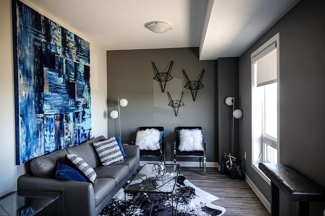 obývací pokoj - osvětlení